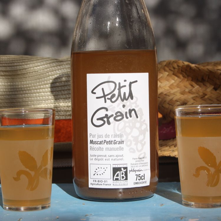 jus de raisin petit grain