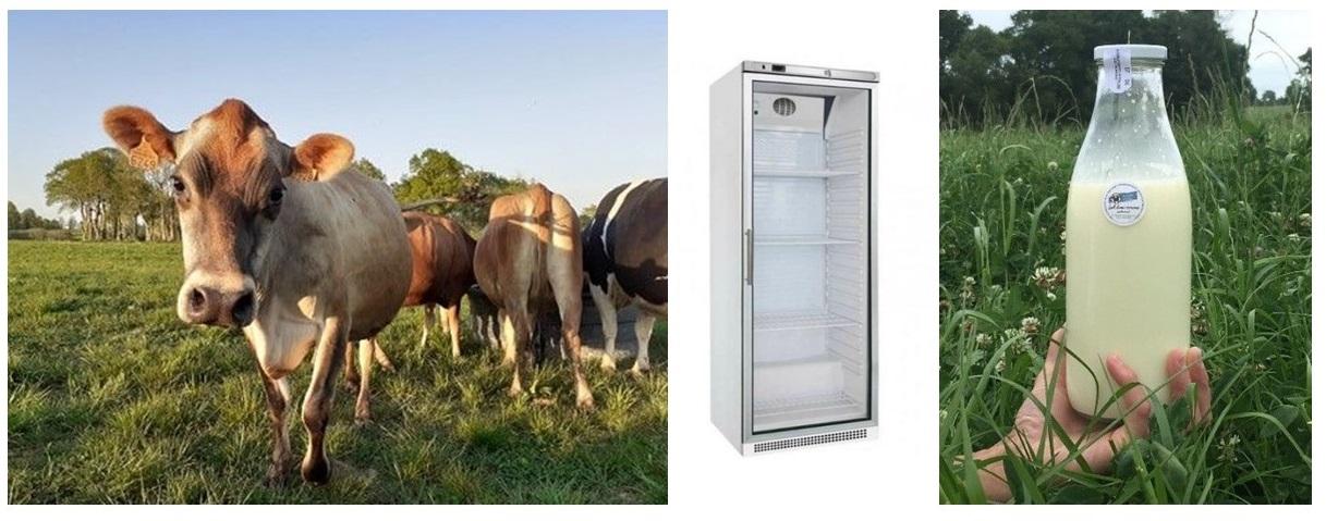 lait vache refrigérateur mamie mesure
