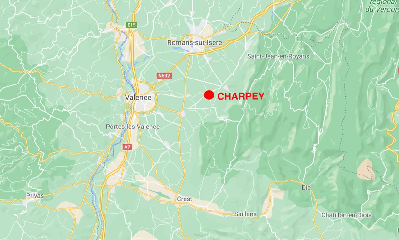 map charpey drome